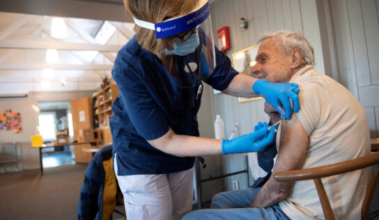 Sweden plans Covid booster shots, with most of population likely to receive 3rd shot in 2022