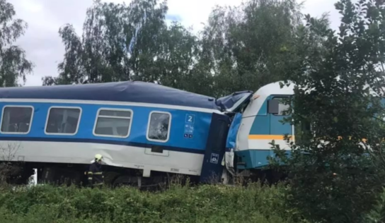 2 dead and dozens injured as trains collide in village of Milavce in western Czech Republic
