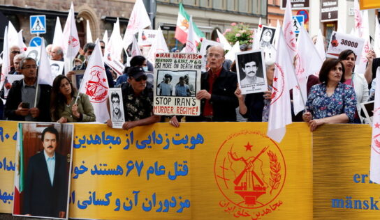 Iranian goes on trial in Sweden accused of involvement in prison massacres during 1988 purges