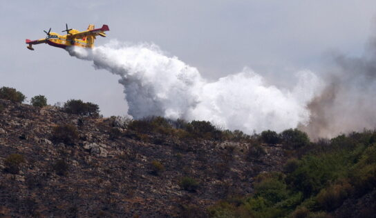 Locals evacuated as wildfire ravages nature reserve near Roman suburb