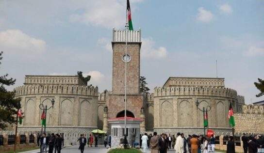 Ghani's Government Pledges to Hand Over Power