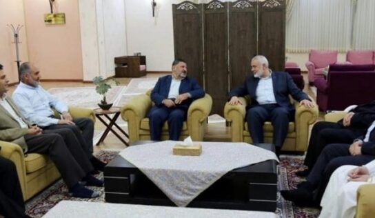 """Haniyeh Meets with """"Dawa and Reform Group"""" in Tehran"""