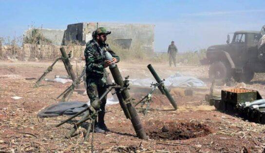Daraa terrorist Attacked Syrian Army Post
