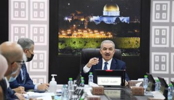 Palestinian PM calls on intl. community to end Israel's racism, ethnic cleansing in al-Quds