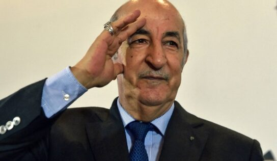 Army Is Backbone of State, Says Algeria's President