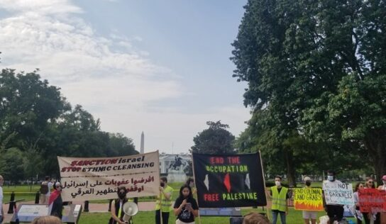 US Activists against Bennett's Visit to Washington