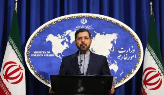 Iranian Foreign Ministry: Repeated Ship Incidents are Suspicious