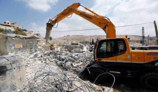 Occupation Forces Demolish Khodor Family Homes in Al-Quds