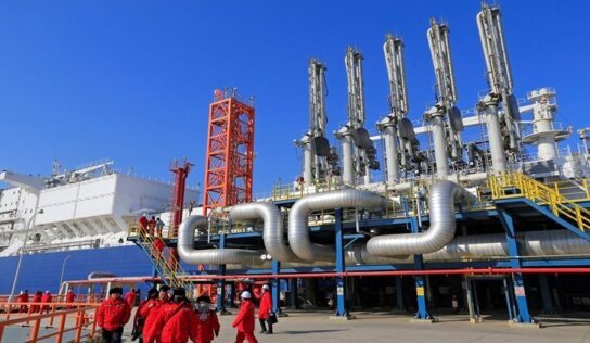 Russian Gas Flow to China up by More Than 50%