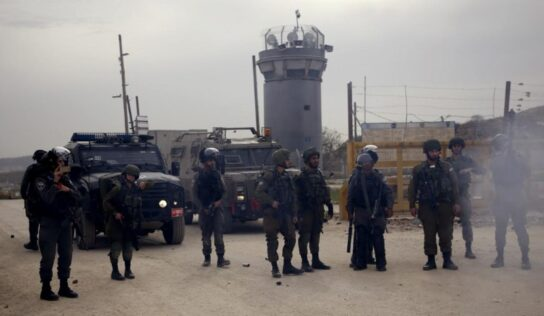 Palestinian Prisoners Set Fire to Cells in Response to Suppression