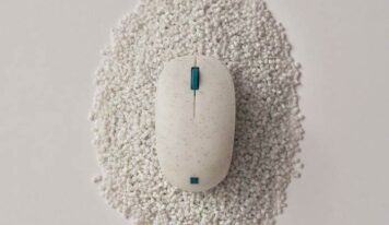 Ocean-Bound Trash Mouse from Microsoft