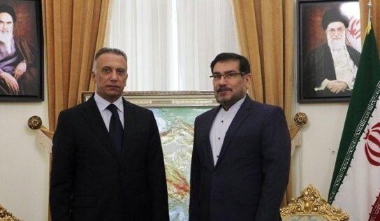 Shamkhani to Kadhimi: Terrorist Activity in Kurdistan Worrisome