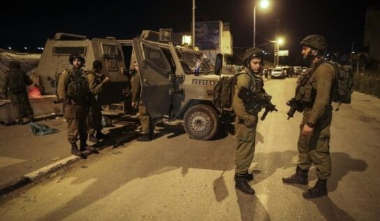 Occupation Forces Arrest Last Two Prisoners Who Broke Out of Gilboa Prison