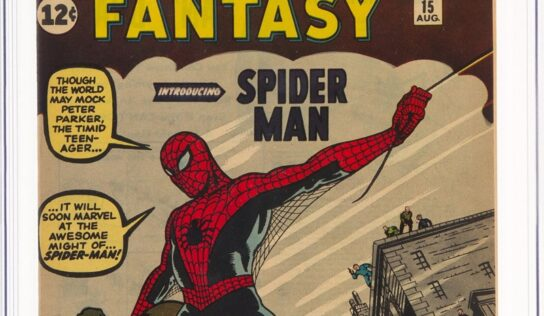 Spider-Man First Issue Sells for a Record-Breaking $3.6 million!