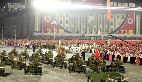 North Korea Marks the 73rd Anniversary with Military Parade