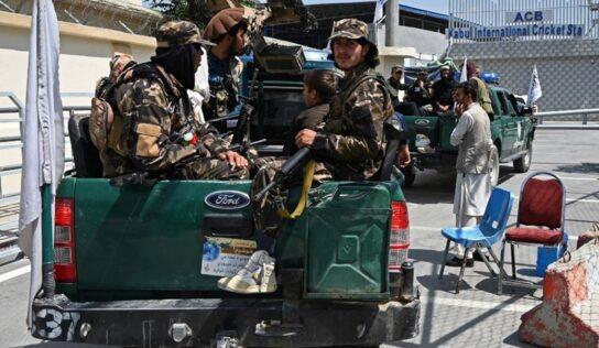 UAE Airplane Landed in Kabul