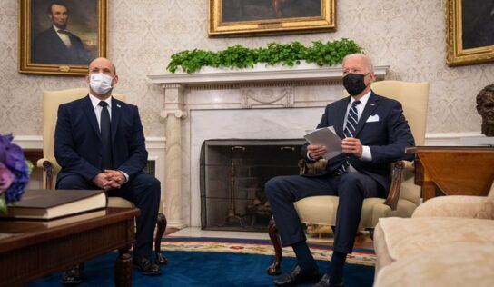 "Axios: ""Biden Reiterates Plan to Reopen Jerusalem Consulate"""