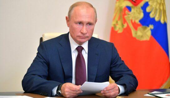 "Putin Describes Afghan Situation as ""Humanitarian Catastrophe"""