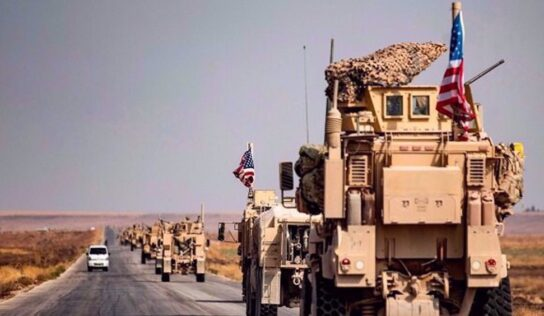 US military convoy targeted in Iraq as calls grow for expulsion of American forces