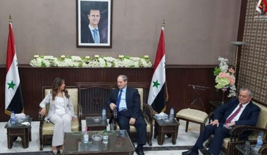 The First Lebanese Ministerial Delegation to Syria in 10 Years Arrives in Damascus