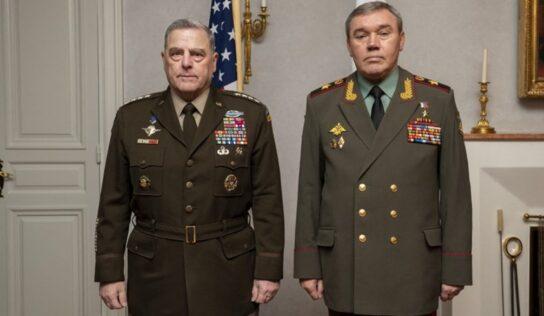 Top US, Russian Generals Hold 'Productive' Talks