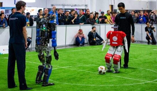 Scientists Aiming to Develop Champion Robots in 2050