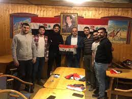 Syrian students in Slovakia renew standing by homeland in war against terrorism .