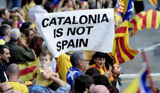 Another passion surge on Catalonia.