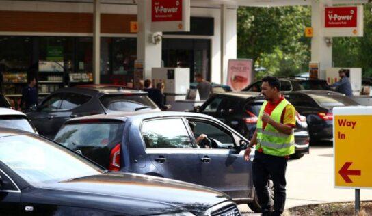Britain: Quarrels Erupt at Gas Stations