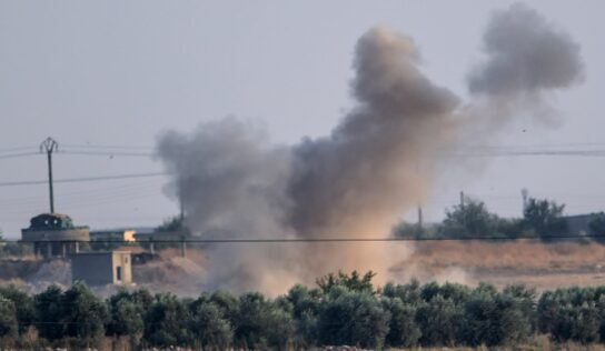 Turkish occupation shells several villages in Hasaka countryside .