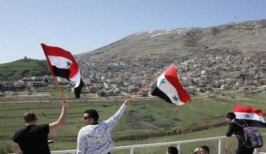 Syria calls for ending the Israeli occupation of Syrian Golan