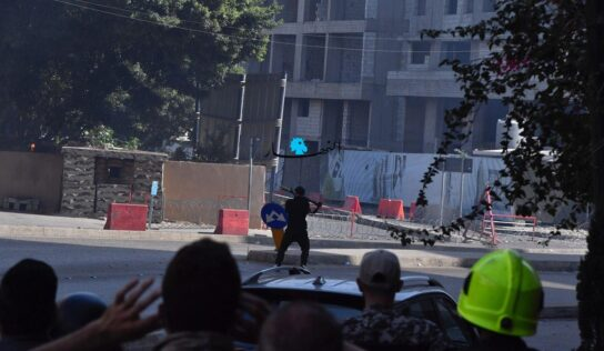 Lebanon: Shooting Attack on a Peaceful Demonstration in Tayouneh .