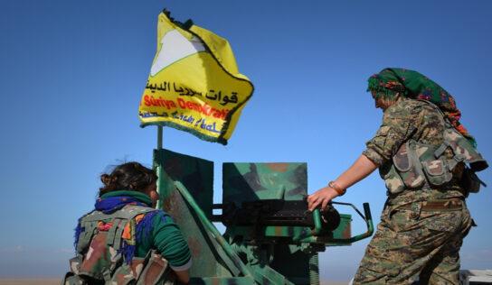 QSD militia kidnaps four young men in Hasaka countryside.