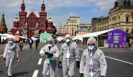 Russia records all-time high of over 32,190 daily COVID-19 cases
