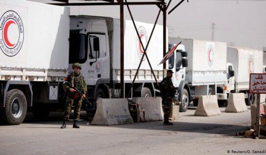 Aid to Syria should go through the recognized government NOT Al Qaeda