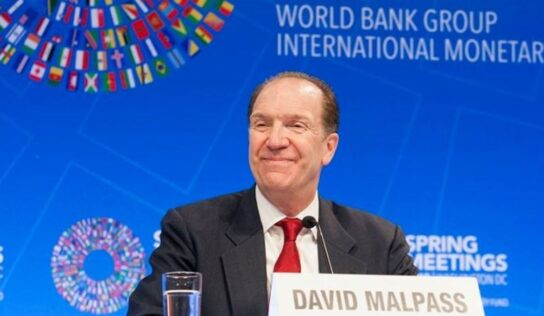 World Bank president calls 'informative' talks with Russian deputy prime minister