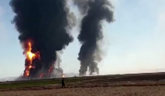 Fire reported at Iran-Afghanistan shared border crossing