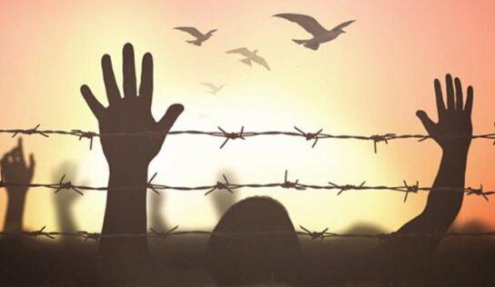 Prisoner Mohammad Al-Arida on an Open Hunger Strike .