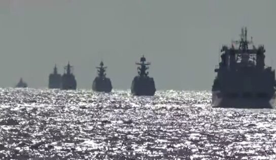 Russia, China Conduct First Joint Naval Patrol in Pacific Ocean