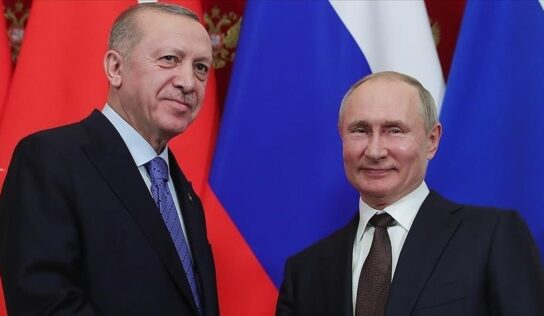 Erdogan, Putin discuss setting up more nuclear power plants in Turkey